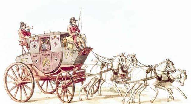 History Trivia Question: In 1673, how long did it take to travel by stage coach between London and Exeter in the UK?