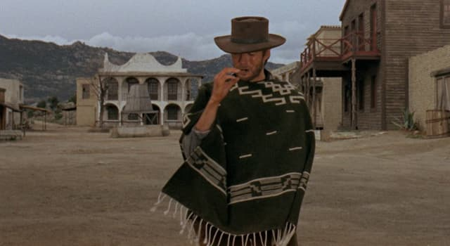 Movies & TV Trivia Question: In which 1964 film did Clint Eastwood first play 'The Man With No Name'?