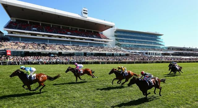 Geography Trivia Question: In which country is the horse racing venue Flemington Racecourse?