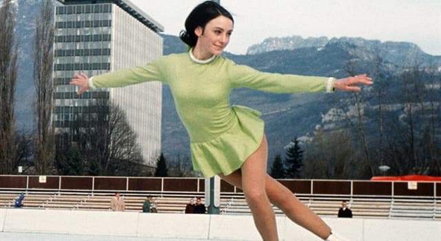 History Trivia Question: In which year was figure skater Peggy Fleming the only American to win a gold medal at the Winter Olympics?