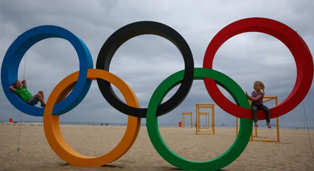 Sport Trivia Question: In which year were the Olympic games first held in London?
