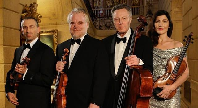 Культура Вопрос: Как называется музыкальный ансамбль из 4 человек?