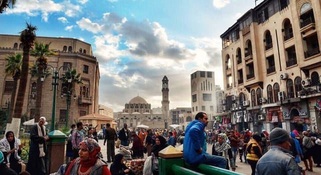 География Вопрос: Какой город является столицей Египта?