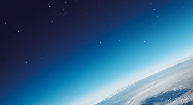 Природа Вопрос: Какой самый распространенный элемент в атмосфере?