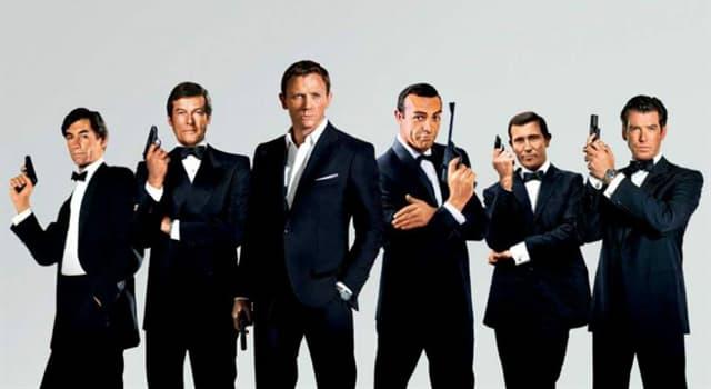 Películas y TV Pregunta Trivia: ¿Qué actor interpretó más películas de James Bond?