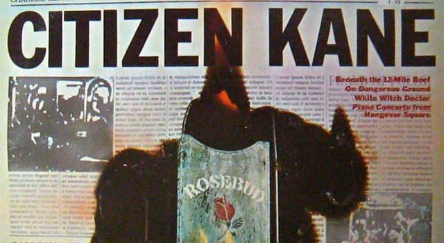 Películas y TV Trivia: ¿Qué artista dirigió y protagonizó al mismo tiempo la película Citizen Kane (El Ciudadano Kane)?