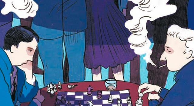 """Cultura Pregunta Trivia: ¿Qué escritor europeo es el autor de la """"Novela de ajedrez""""?"""