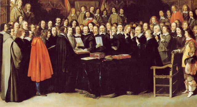 Historia Trivia: ¿Qué país resultó el más favorecido en la Paz de Westfalia?