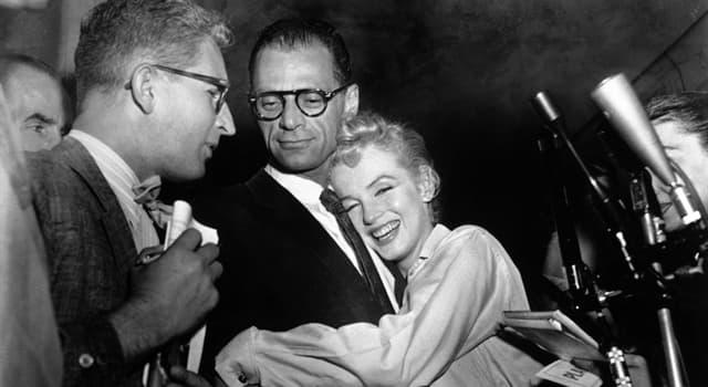 Películas y TV Pregunta Trivia: ¿Qué película de 1960 fue escrita por Arthur Miller y protagonizada por su esposa Marilyn Monroe?