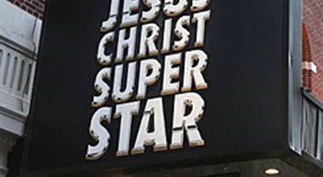 Cultura Pregunta Trivia: ¿Quién es el autor de la música de la ópera rock Jesucristo Superstar?