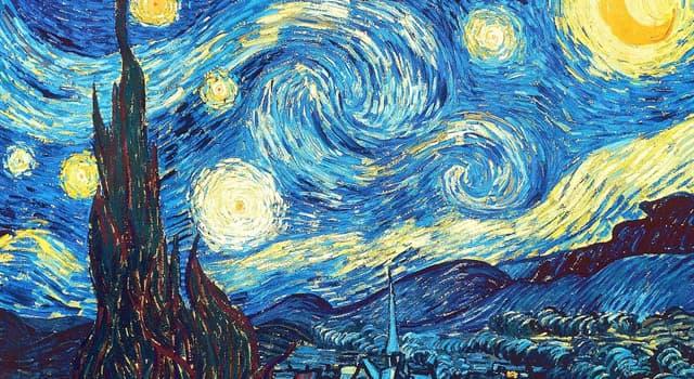 Cultura Pregunta Trivia: ¿Quién es el creador de la obra La Noche Estrellada?