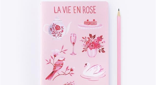 """Cultura Pregunta Trivia: ¿Quién escribió y cantó la pieza """"La Vie en Rose""""?"""