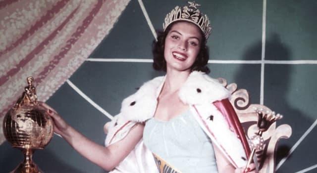 Historia Pregunta Trivia: ¿Quién fue la primera latinoaméricana en ganar el título de Miss Universo?