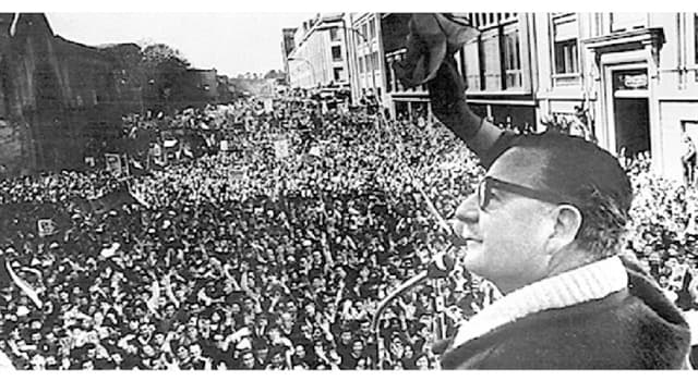 History Trivia Question: Salvador Allende was elected president of which country in 1970?