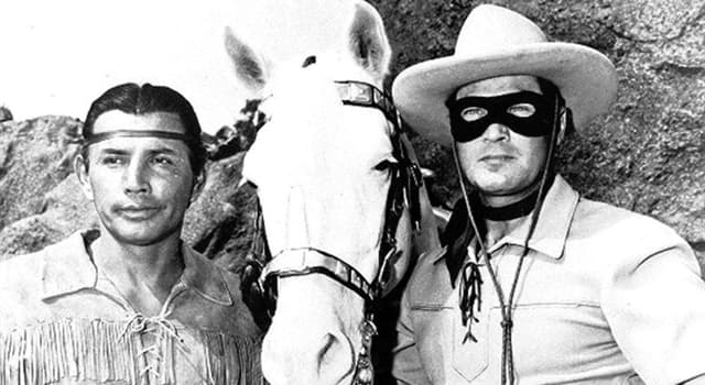 Movies & TV Trivia Question: What costumed crime fighter is the great-nephew of the Lone Ranger?
