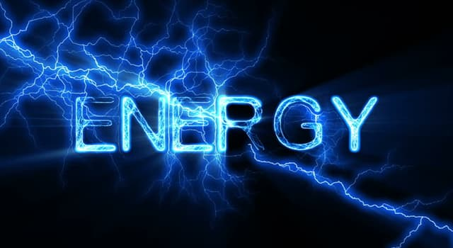 Science Trivia Question: What term describes the energy created by an object in motion?