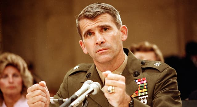 History Trivia Question: What was the name of Oliver North's secretary during the Irangate scandal?