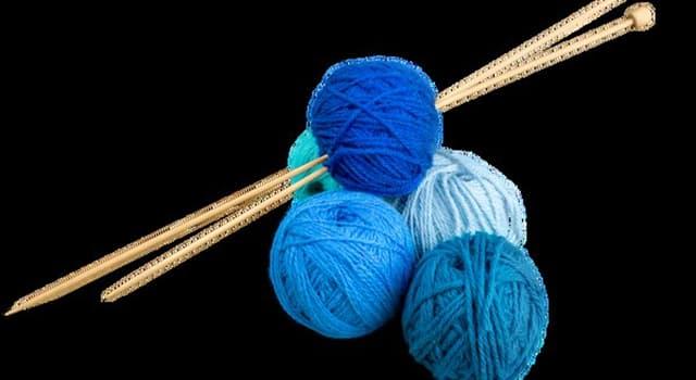 Society Trivia Question: Where did knitting originate?