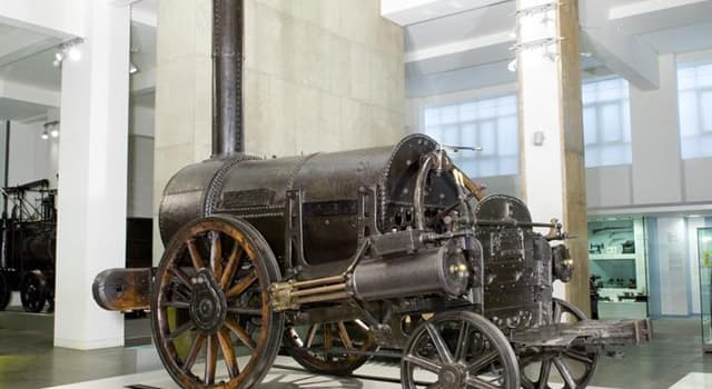 "History Trivia Question: Where is the original ""Stephenson's Rocket"" normally on display?"