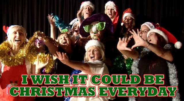 """Culture Trivia Question: Which 1970s British band released the Christmas hit single """"I Wish it Could Be Christmas Everyday""""?"""