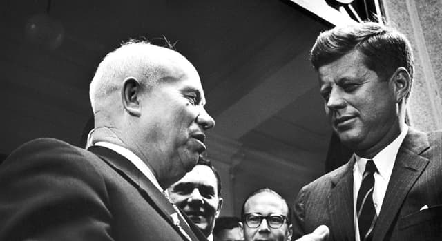 History Trivia Question: Which city hosted the summit in 1961 where Kennedy and Khrushchev met?