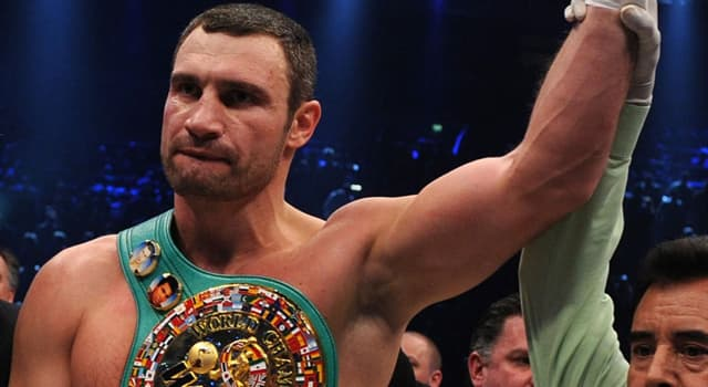 Sport Trivia Question: Which country does boxer Vitali Klitschko come from?