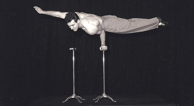 Movies & TV Trivia Question: Which famous Hollywood star used to be a circus acrobat?