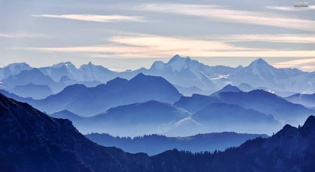 Geography Trivia Question: Which mountain range gets its name from the Sanskrit language meaning 'abode of snow'?