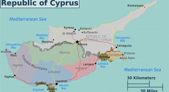 Culture Trivia Question: Who was the first President of Cyprus?