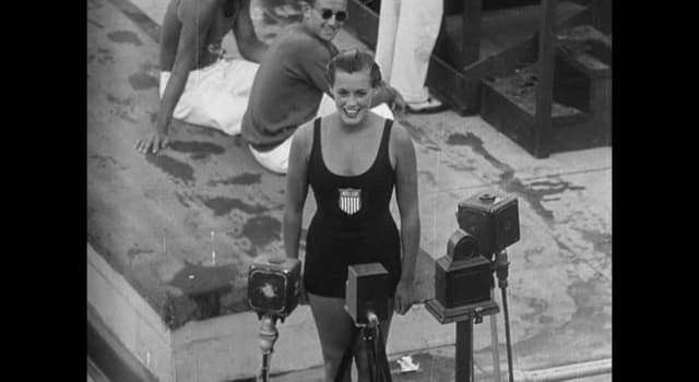 Sport Trivia Question: For which reason was World Champion swimmer Eleanor Holm disqualified from competing in the 1936 Olympics?