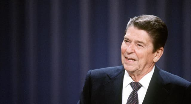 History Trivia Question: At what age was Ronald Reagan first elected president of U.S.?