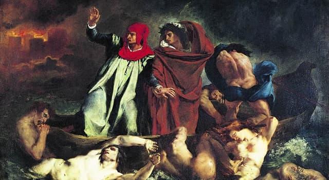"""Культура Вопрос: Что из перечисленного не является одной из трёх частей """"Божественной комедии""""  Данте Алигьери?"""
