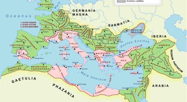 Historia Pregunta Trivia: ¿Cuál de las siguiente regiones fue nombrada Protectorado de Roma en el año 146 a.C?