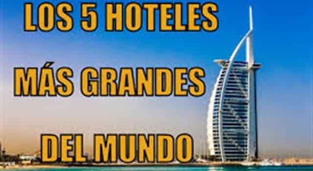 Cultura Pregunta Trivia: ¿Cuál es el complejo hotelero del mundo occidental con mayor cantidad de habitaciones?