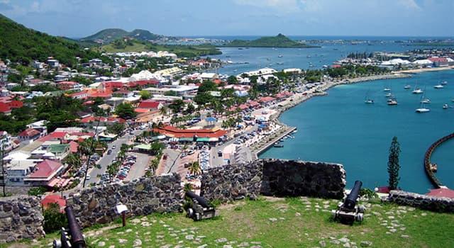 Geografía Pregunta Trivia: ¿Cuál es el nombre de la isla caribeña cuya frontera, esta compartida entre Francia y Holanda?