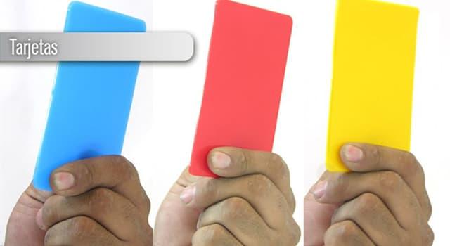 Deporte Pregunta Trivia: ¿Cuándo se implantó el uso de tarjetas en el fútbol?