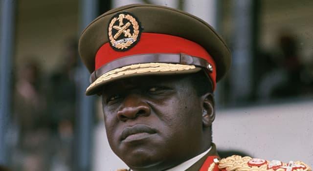 Historia Pregunta Trivia: ¿De qué país fue presidente Idi Amín?