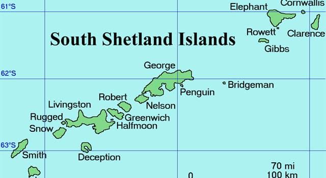 Geografía Pregunta Trivia: ¿Dónde se encuentran las islas Shetland del Sur?