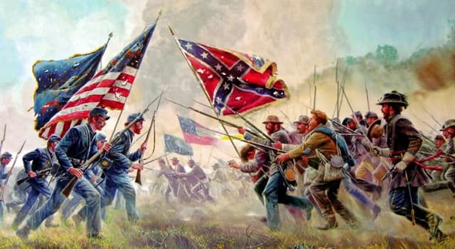 History Trivia Question: During the American Civil War, how many states fought for the Union; and how many for the Confederacy?