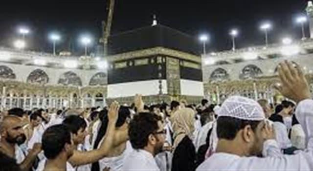 Cultura Pregunta Trivia: ¿En qué fecha se realiza la peregrinación anual de los musulmanes en La Meca?