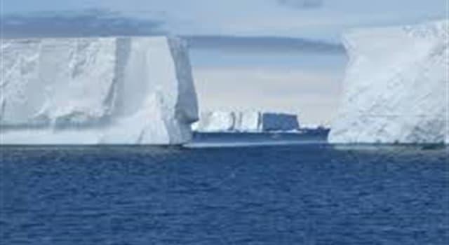 Geografía Pregunta Trivia: ¿En qué océano se encuentra el mar de Weddell?