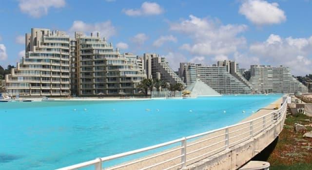 Geografía Pregunta Trivia: ¿En qué país de América se encuentra la piscina más grande del mundo?
