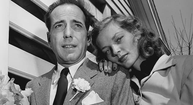 Películas y TV Pregunta Trivia: ¿En qué película trabajaron juntos como protagonistas por primera vez Humphrey Bogart y Lauren Bacall?