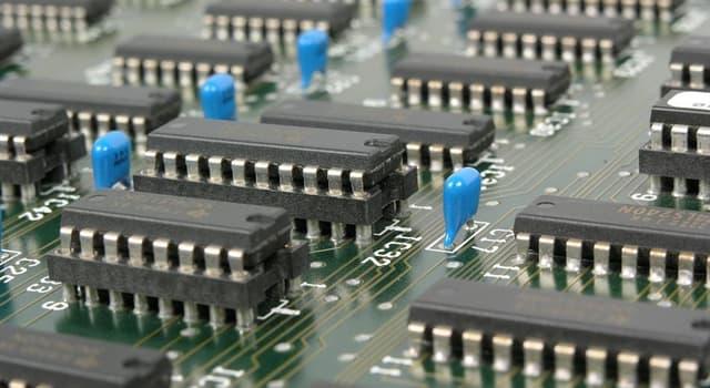 Wissenschaft Wissensfrage: Aus welchem Element werden Computerchips hergestellt?