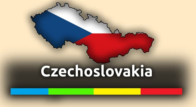 History Trivia Question: In what year was the former republic of Czechoslovakia formed?