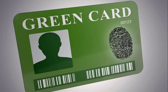 Culture Trivia Question: In which year was the permanent residence (United States) green card restored back to being green colored?