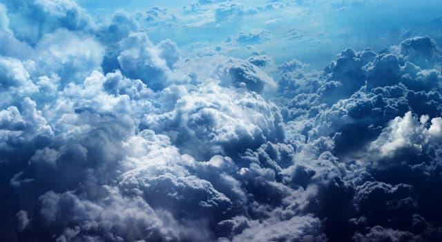 Природа Вопрос: Из чего состоят облака?
