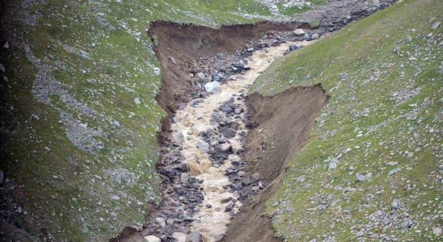 Природа Вопрос: Как называется мощный грязевой поток с камнями, возникающий в горах во время ливней или в период таяния снегов?