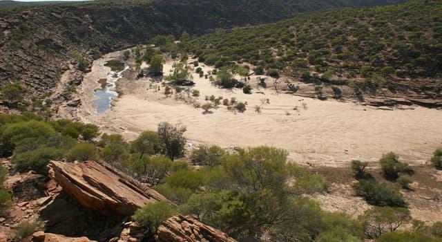 Природа Вопрос: Как в Австралии называют временно пересыхающие реки?