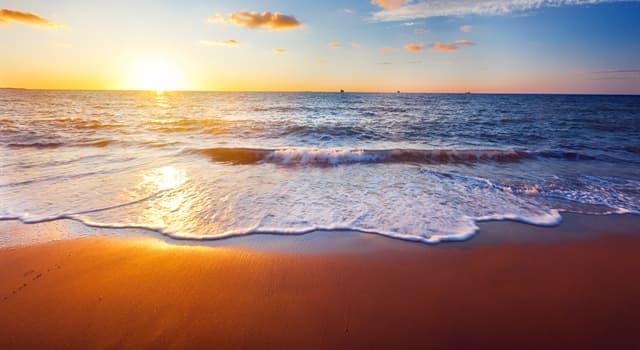 Geographie Wissensfrage: Was ist mit nur 8 Metern durchschnittlicher Wassertiefe das flachste Meer der Erde?
